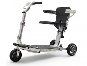 scooter plegable eléctrica de la marca Moving Life (modelo ATTO)