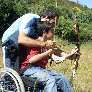 Campamento veranos discapacidad
