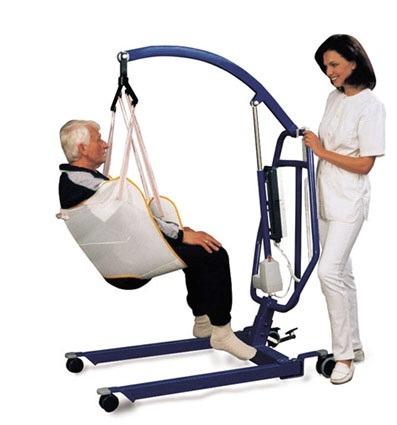 gruas de traslado y elevación para discapacidades